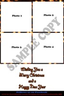 4x6 Christmas Portrait Template