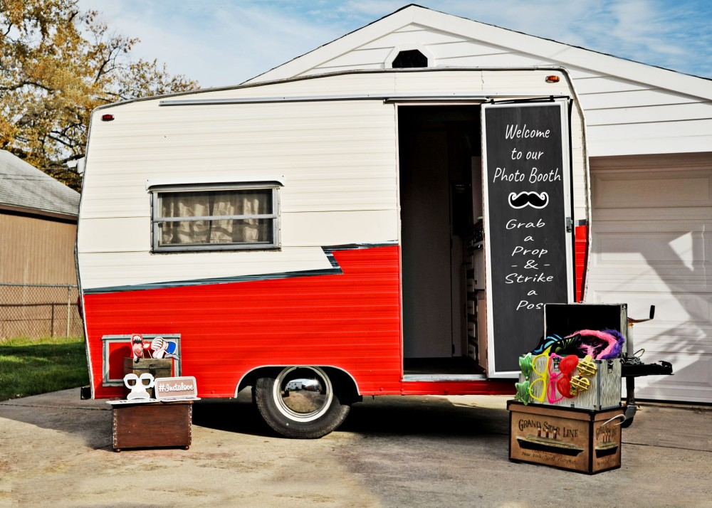 Photo Booth Trailer