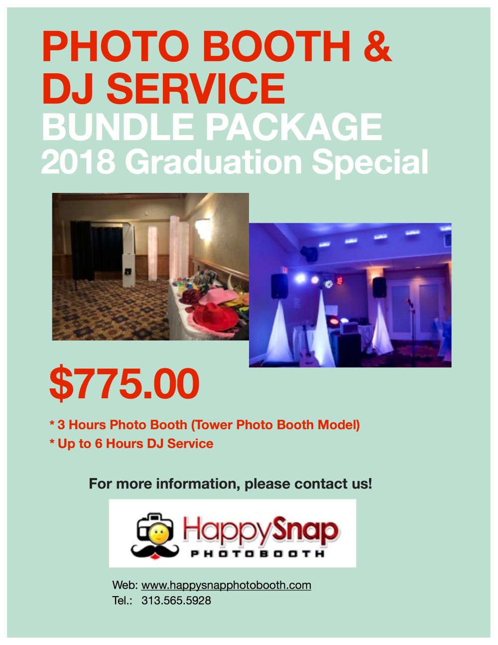 Photo Booth+DJ Package-2018