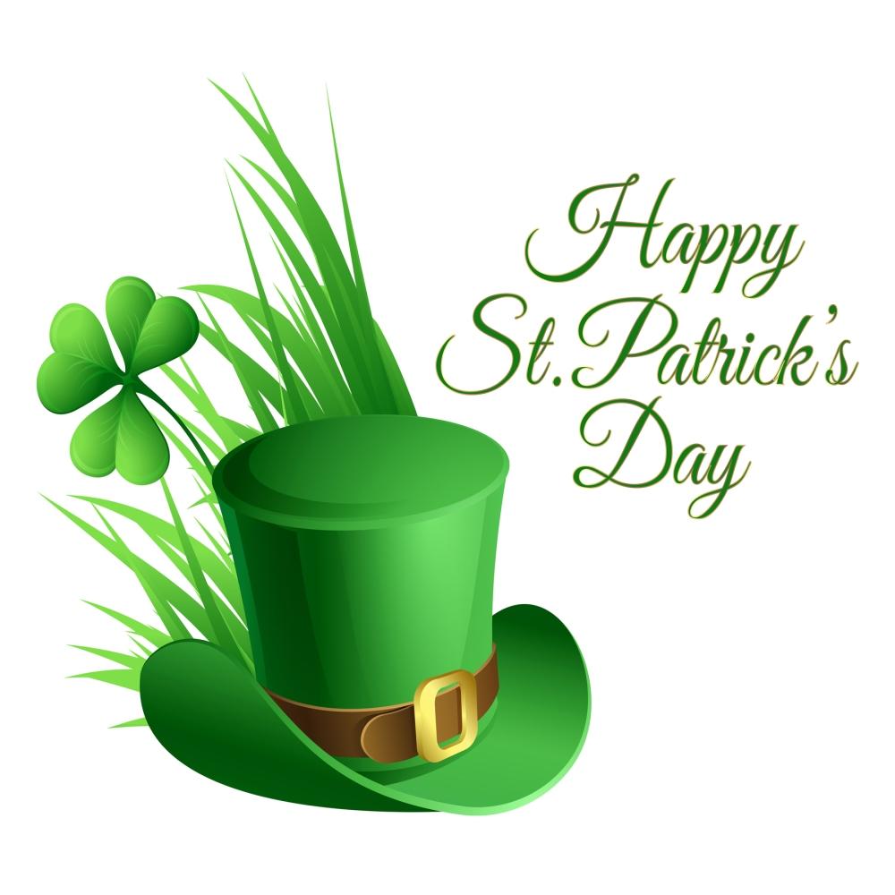 St_Patricks_Day_Hat_and_Shamrock